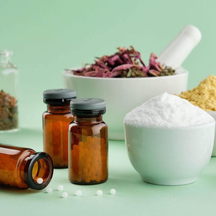 frascos de homeopatia