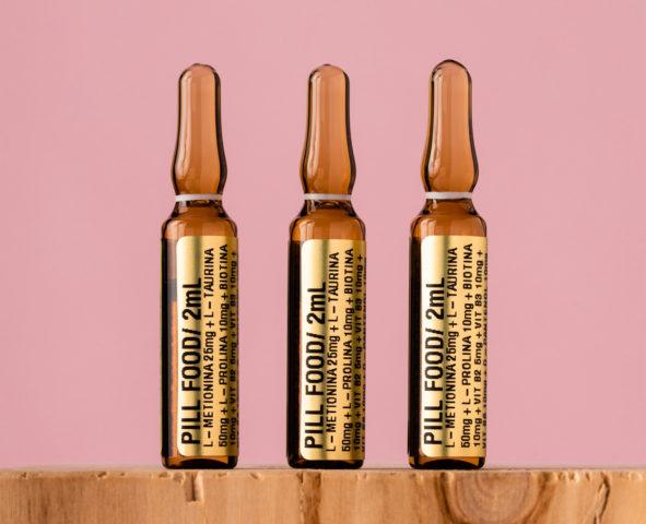 O Pill Food é um Injetável para tratamento da queda capilar